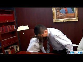 Subtitles - Ibuki, Japanese secretary, fucked in office