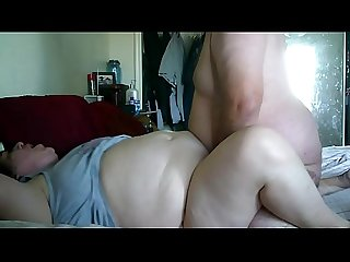 Pawg wife fucking a big dick up close