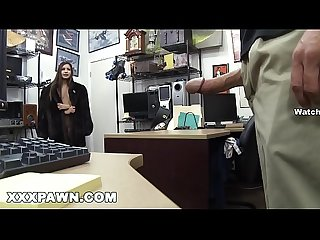 Xxx pawn zaya cassidy needs some money real quick so she visits A pawn shop