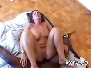 Teen white girl with black guy hardcore interracial