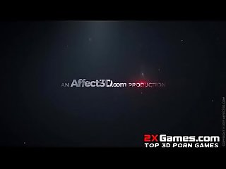 Bloodlust cerene trailer 3dx vampire fantasy animation from affect3d