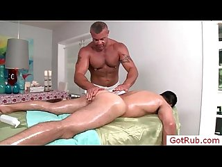 Sexy massage pro rimming his client by gotrub