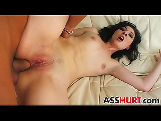 Rebecca gets rough anal