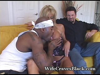 Hot wife craves black stud