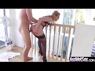 Anal Sex tape with big oiled butt sluty sexy girl dahlia sky Video 21
