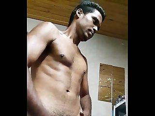 Indian gay boy rahul gupta masturbating in bathroom desi dick