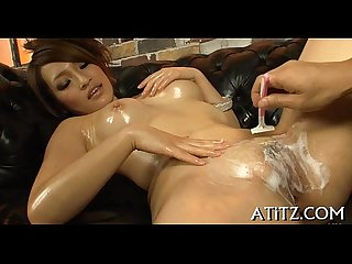 Sampling asian babe s hot love melons