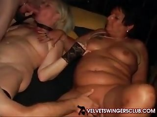 Swing wife seduce couple slut load
