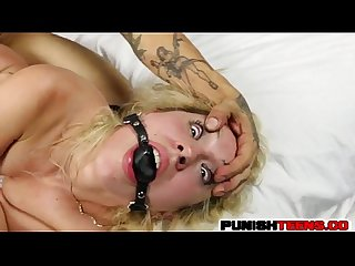 Goldie Rush is a Punished Teen