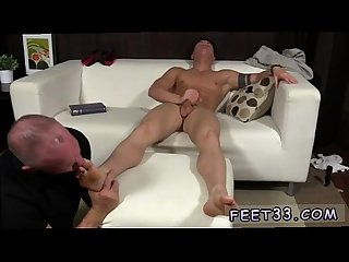 Young cute hairy indian gay porn daddy dev worships sebastian S feet
