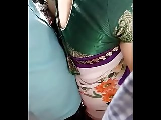 Desi aunty smooch by cousin