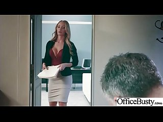 (Nicole Aniston) Sexy Big Tits Office Girl Love Hard Sex clip-26