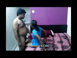 Desi couple fucking with hotel room record by hidden cam