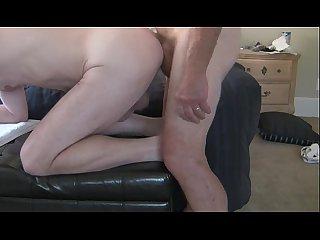 Dad fucks pussy boy
