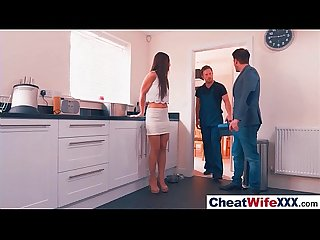 Superb wife taylor sands in hard style sex cheating story clip 27