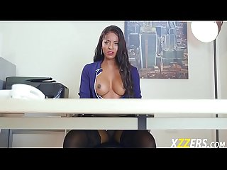 Jasmine webb her interview with big cock