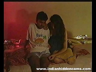 married indian couple fucking hard seducing each other on camera for money