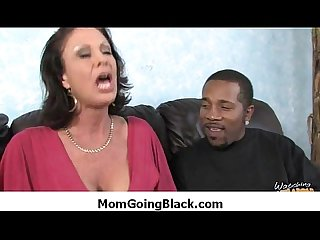 Black monster fucks my moms tight pussy 39