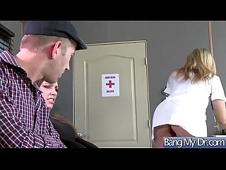 Hot Kinky Patient (Julia Ann) Seduced By Doctor Enjoy Sex Treatment clip-20
