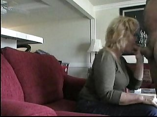 Older neighbor gives me bj to completion hidden cam