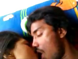 Bangladeshi beautiful girls sucking and riding on her bf cock