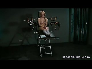 Sluty blonde slave dominated by mistress