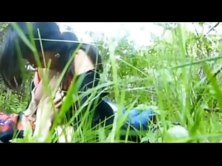 Girl outdoor fun with BF show her nice boobs n sucking dick clear audio @ Leopard69Puma