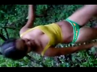 Indian Hot teen strip in forest for her bf commat leopard69puma