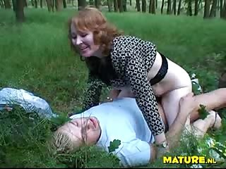 Majesta fuck young guy outdoor