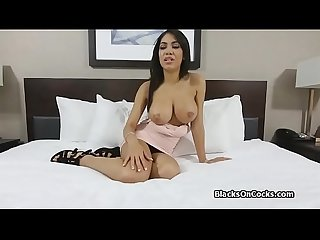 Teen ebony big tit cock casted