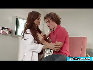 Stepmom Syren DeMer teaches her stepson