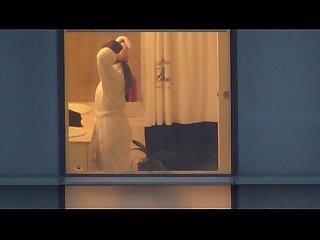 Hotel voyeur beautiful lady number 1