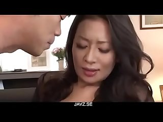 Rei kitajima Hot Wife amazing porn scenes on The couch from javz se