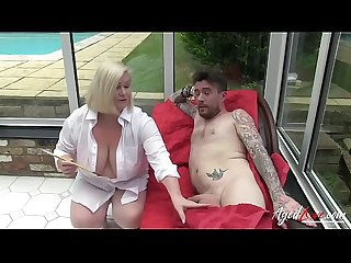 AgedLovE Mature Lacey Starr Hardcore with Luke Hotrod