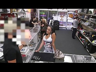 Busty Latina Tries To Sell Stolen Phones - XXX Pawn