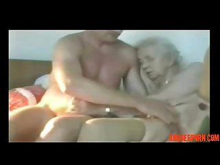 Very Old granny used by younger man amateur older porn rough abuserporn com