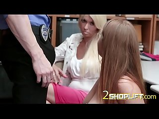 Teen with big tits banged roughly