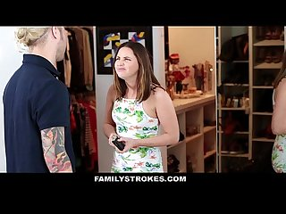 FamilyStrokes - Cute Step-Sister Gets Double Penetrated By Brothers