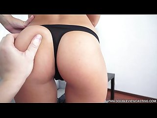DOUBLEVIEWCASTING.COM - FOXI DI FULFILLS ANAL WISH (POV VIEW)