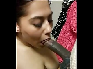 Dressing room blowob and sex