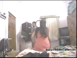 Real indian college couple amateur homemade sex indianhiddencams com