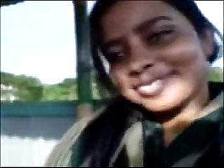 Bangla Muslim girlfriend on a date