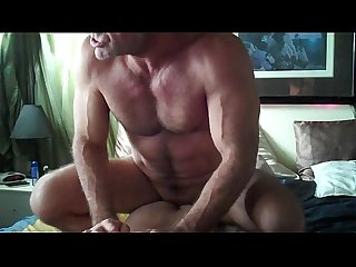 Muscle daddy fucking
