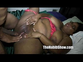 Bbw milf slurp slurp sucks that nut of Bbc redzilla