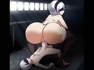 Sinensian - Big Ass 2B Hentai Booty Bounce