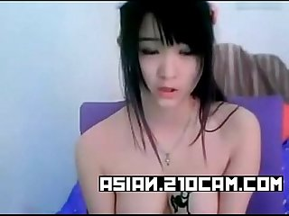Amateur Chinese cute babe masturbation on cam more asian 21ocam com