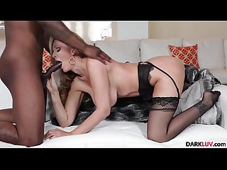 Busty blonde milf Julia Ann gets a bbc drilling