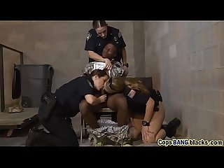 Three cock hungry female cops use stiff penis o used as a fuck toy hd 72p porn 1