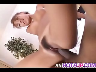 Mai Yamasaki wakes up for a hot blowjob and gets hairy cunt fucked - More at hotajp com