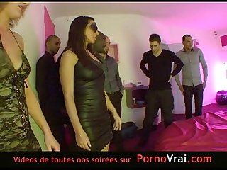 French hidden cam in a swinger club part 3